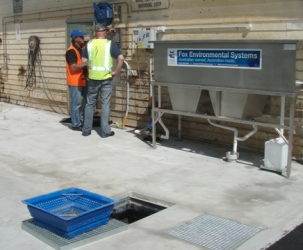 AQIS Unroofed Container Wash Facility